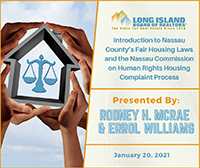 Nassau County Fair Housing Webinar